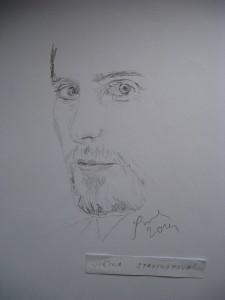 Jirina Stavinohova Vytvarna Tvorba Kresba Tuzkou Muzi Kresby